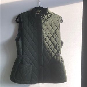Max Studio Country Hunter Green Vest - Size XL